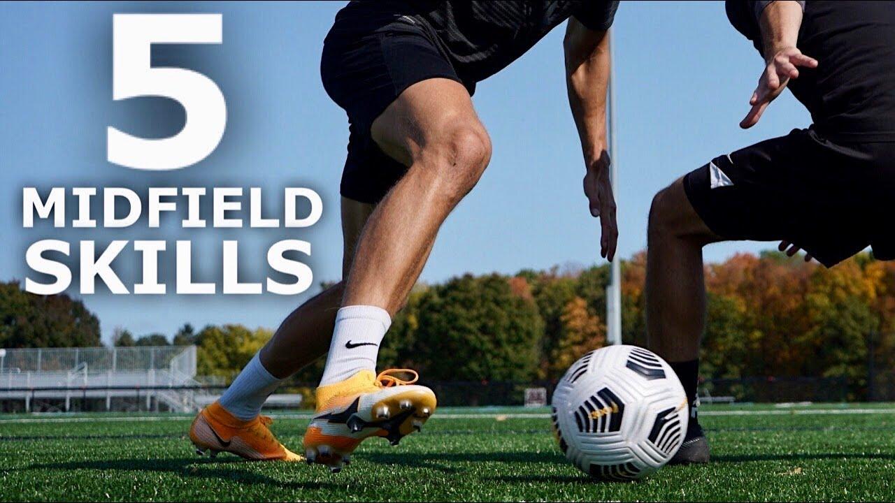 Download 5 Easy MIDFIELD SKILLS   Five Skills For Central Midfielders To Beat Defenders