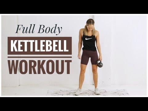 20 Minute // Full Body KETTLEBELL Workout