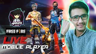 Free Fire Live 🇮🇳 |Ranked Push |Android Streamer |AppzoGaming