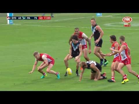 Round 1 AFL - Sydney Swans v Port Adelaide Highlights