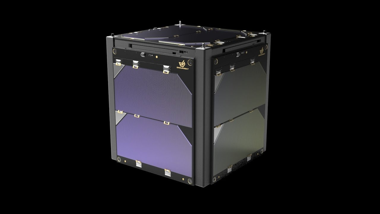 1U CubeSat Solar Panels X/Y by EnduroSat