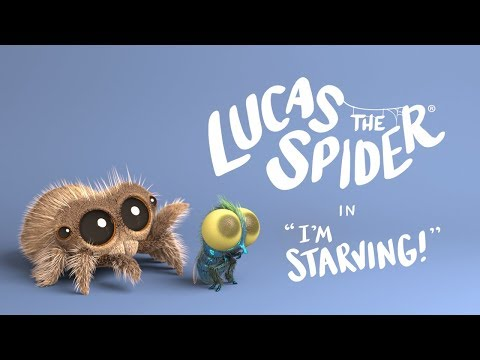 Lucas the Spider  I'm Starving