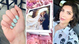 VLOG  Press-on Nails, Our Wedding Album, Exercise Routine, Recipes Galore!