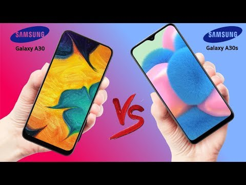 Samsung Galaxy A30 vs Galaxy A30s