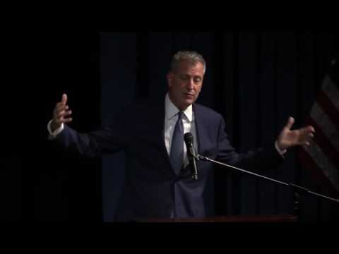 Premiere of Hedge Fund Billionaires VS Teachers with Mayor Bill de Blasio and Robert Greenwald