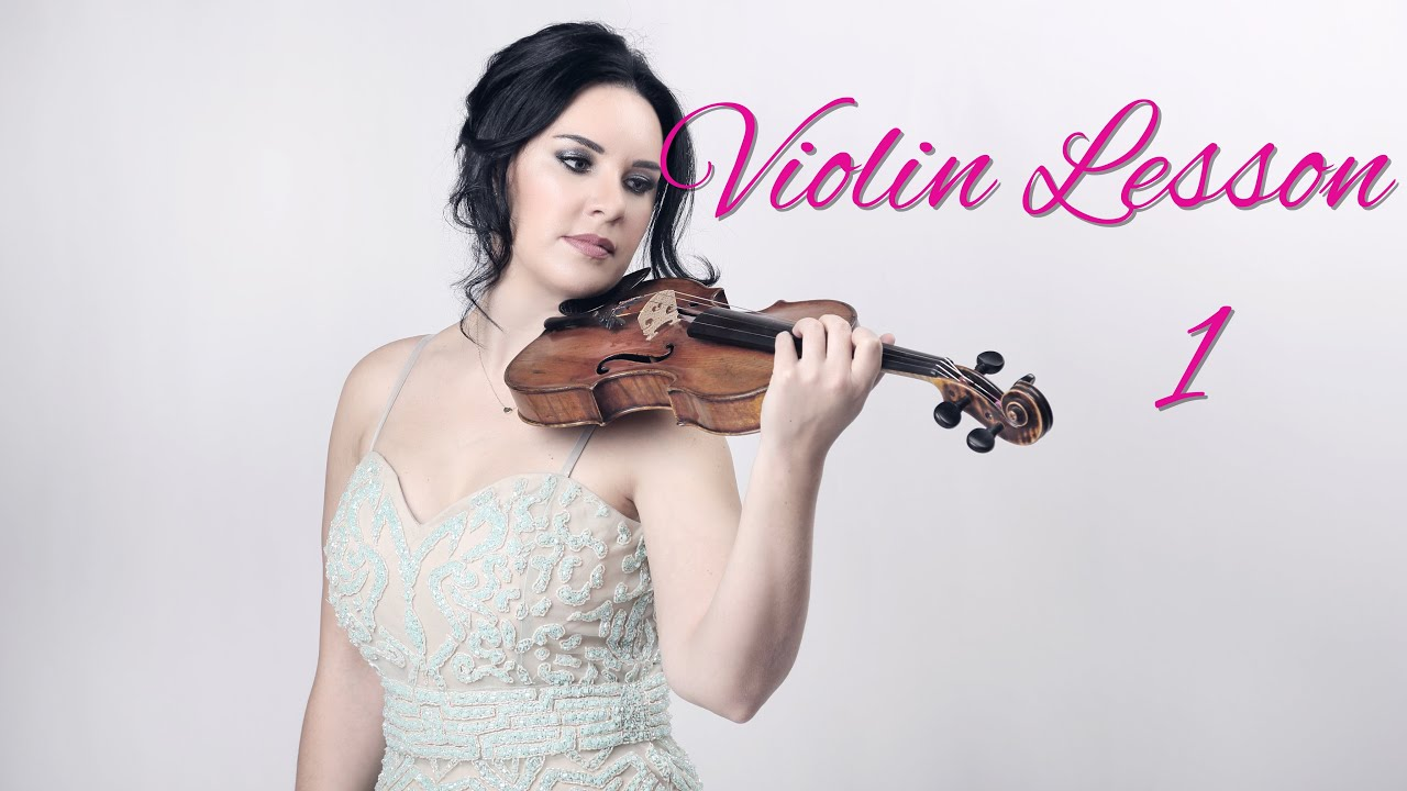 Learn the VIOLIN | Lesson 1/20 | How to hold the violin & bow ...
