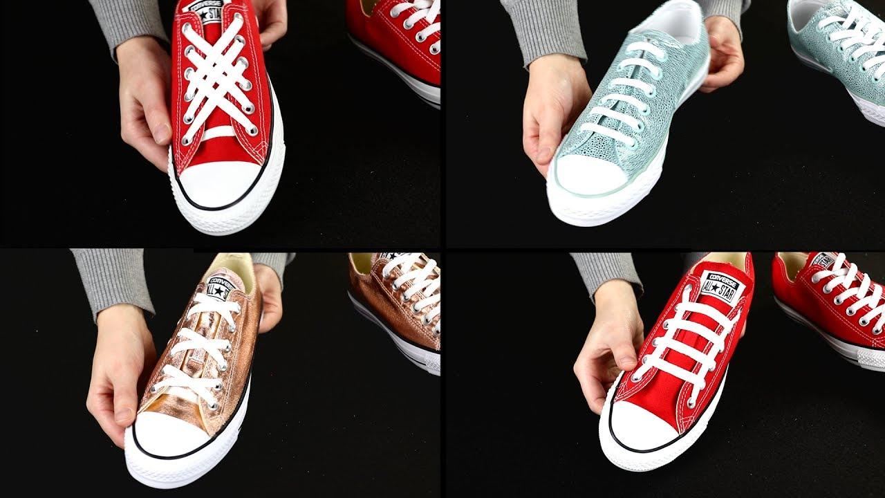 Come allacciare le scarpe? Metodi originali che ti