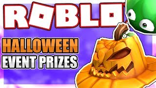 OFFICIAL HALLOWEEN EVENT PRIZES RELEASED | Roblox
