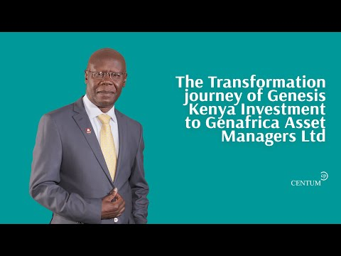Transition from Genesis Africa to GenAfrica Asset Managers