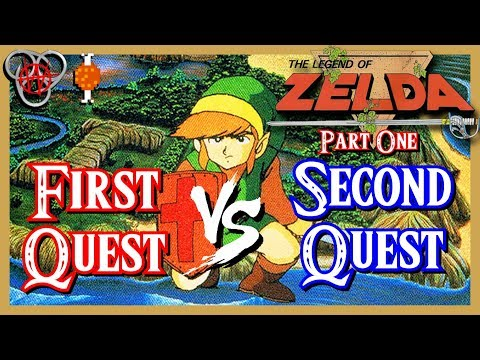 The Legend of Zelda NES – First Quest Vs. Second Quest - Part 1 - with Hungry Goriya | Nefarious Wes