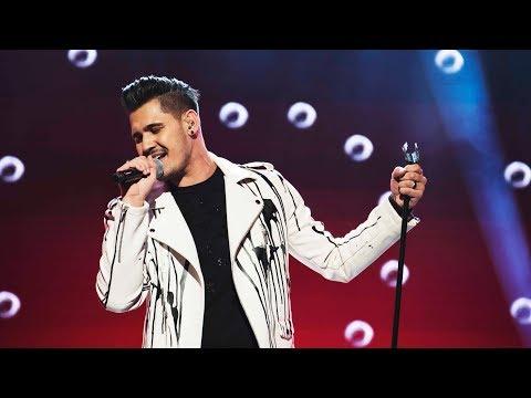 Gabriel Cancela sjunger Locked out of heaven i Idol 2017 - Idol Sverige (TV4)