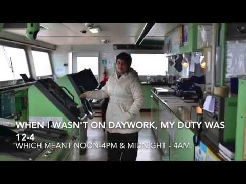 Female Deck Cadet - My Life Onboard