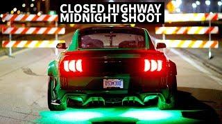 900hp Mustang Midnight Photoshoot: What it Takes to Capture Vaughn Gittin Jr.'s Cloverleaf Drift
