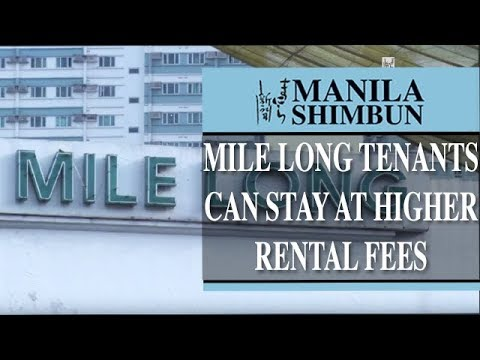 Mile Long tenants can stay at higher rental fees: Dominguez