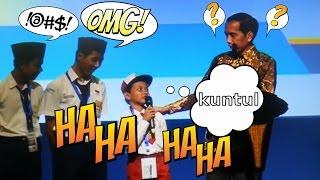 """Download Video HEBOH! VIDEO ANAK SD SEBUT IKAN """"TONGKOL"""" DEPAN JOKOWI MP3 3GP MP4"""