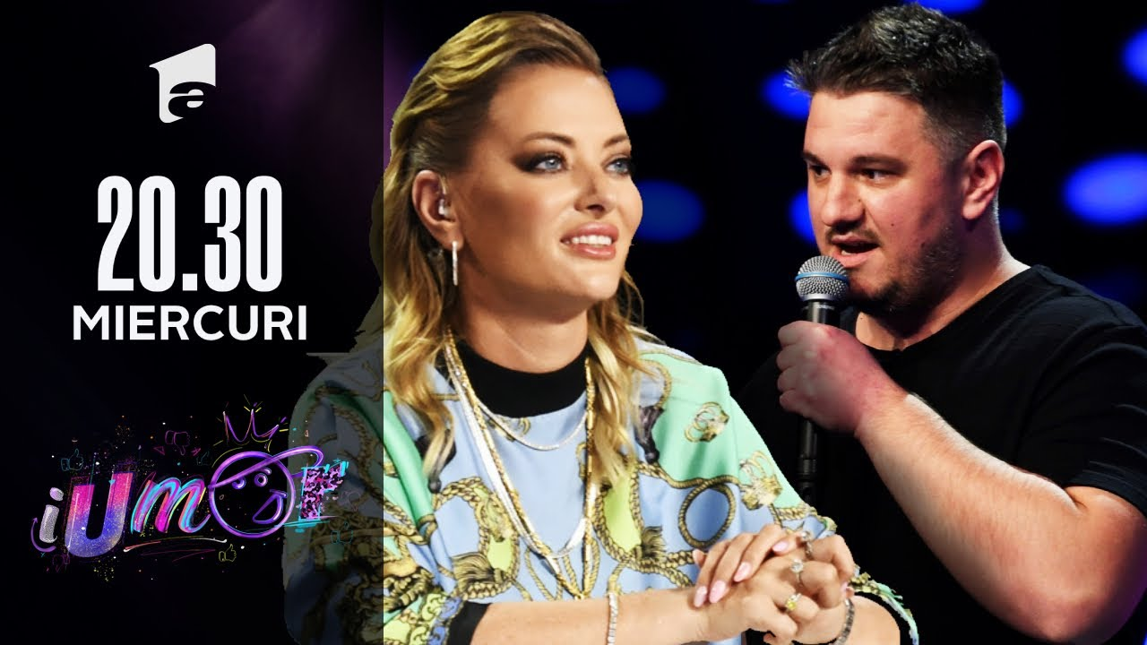 iUmor 2021 | Doru Nicuț, glume pe bandă rulantă despre soția lui, bebeluși și alăptare