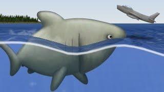 Download lagu GIANT SHARK EATS GIANT PLANES!!! - Full Giant Shark Segment - Tasty Planet Forever   Ep 5