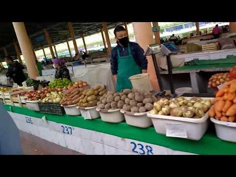 Ташкент 6 апреля 2020 г. Фархадский базар овощи