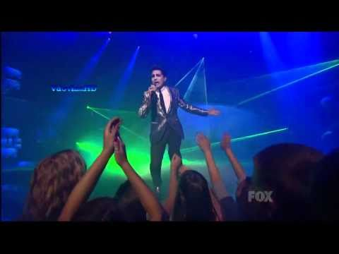 Adam Lambert - Whataya Want From Me  on American Idol stage