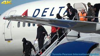 [4K] Toronto Raptors Arriving! Delta 757-232 [N655DL] Arrival/Departure (Toronto Pearson) 6/8/2019