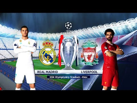 FINAL Real Madrid vs Liverpool 2018 | Olimpiyskiy Stadium Kiev | UEFA Champions League (UCL) | PES