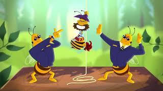 Мультсериал 'Пчелография': Пчелиные профессии (4 серия)