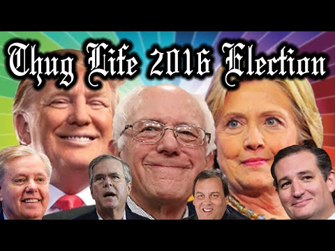 2016 Presidential Election Thug Life Compilation Part 1 !