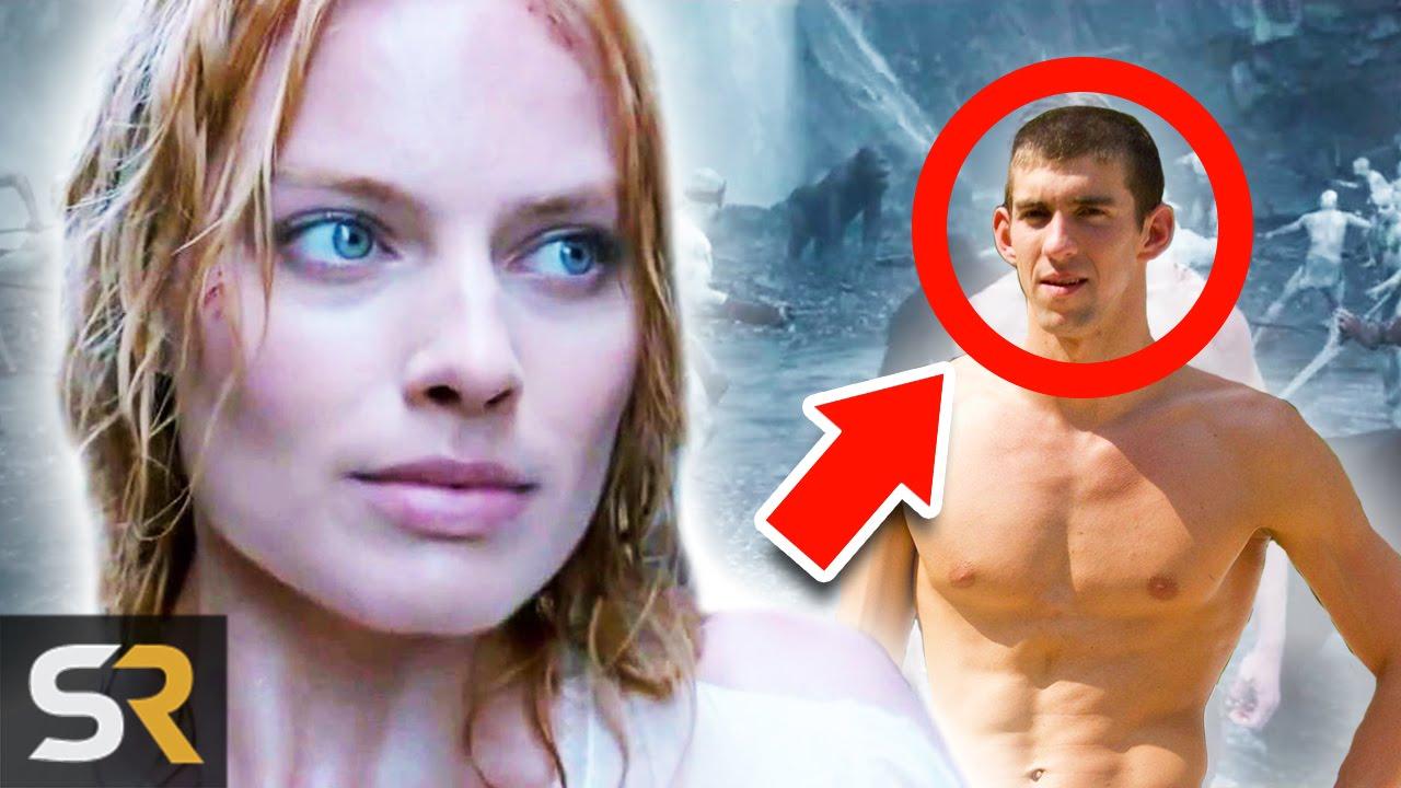 ¿Michael Phelps es TARZAN? (Datos de la película secreto)
