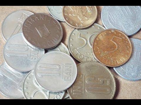 Romania & Bulgaria Coin Collection (2018)