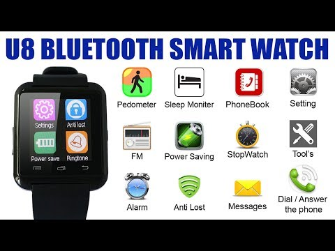 How to Setup U8 SmartWatch With Mobile Installing BTNotifications Application