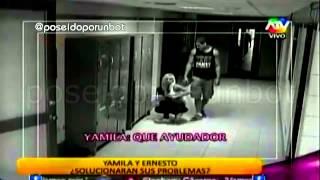 COMBATE: Yamila no Quiere Conversar con Ernesto 21/01/14