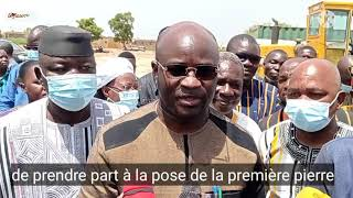 Région du centre : Bientôt un centre de santé moderne pour la population de Barogo