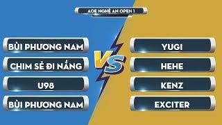 Trận 8 Chung kết | GameTV vs Skyred | AoE Nghệ An Open 1 | Ngày 31/08/2019