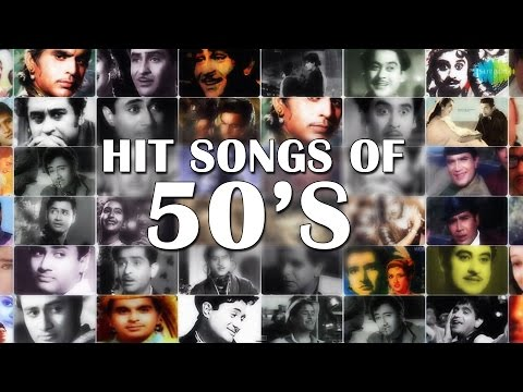 50s Hindi Songs Hits Jukebox | Khoya Khoya Chand & More Hits | Best Bollywood Songs Collection