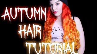 AUTUMN OMBRE HAIR mit Directions - TUTORIAL