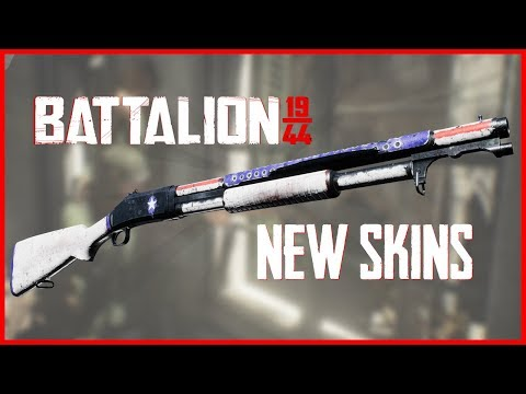 New Battalion Skins LEAKED! First War Chest Announced! (Battalion 1944)  