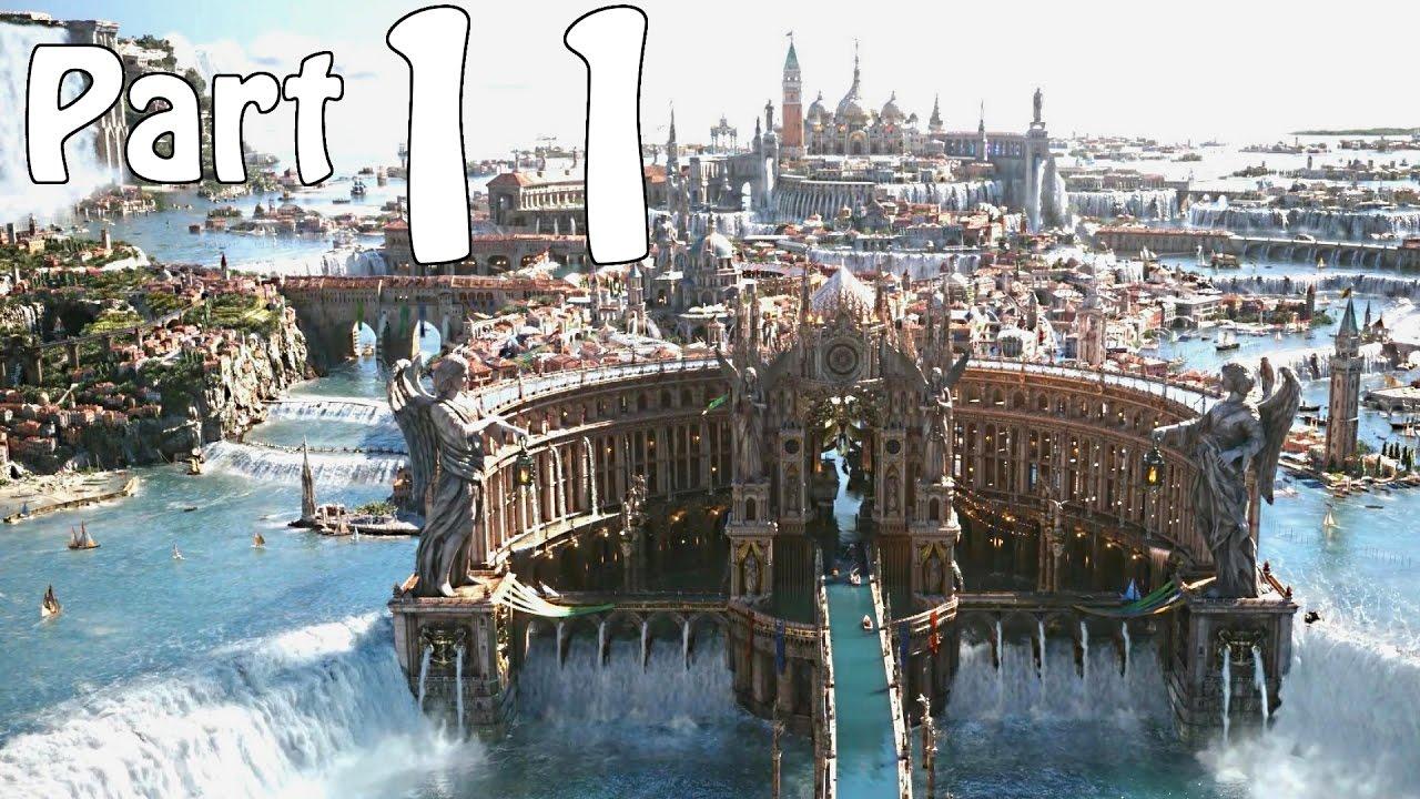 Final Fantasy 15 Hd Wallpaper Final Fantasy 15 Gameplay Walkthrough Part 11 Altissia