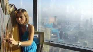 2013.03.07 View from Burj Khalifa High Tea, Dubai, UAE