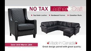 LeatherCraft No Tax Sale - Coulter's Furniture