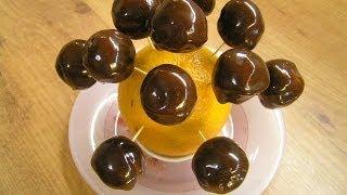 Кейк попсы - марципановые конфеты в шоколаде (видео рецепт)(Видео рецепт приготовления вкусных и ароматных конфет из миндального ореха в шоколаде. Симпатичные такие..., 2011-03-21T11:22:41.000Z)