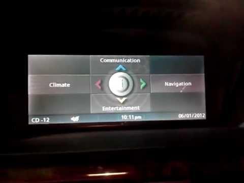 2007 Bmw 530i E60 Idrive Informatin And Options Youtube