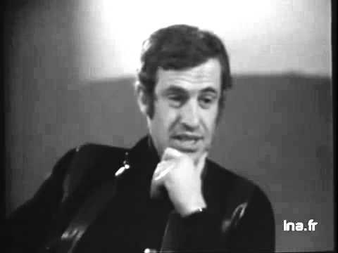 Jean Paul Belmondo chez Monsieur Cinéma en 1975