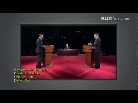 Debate Check: Romney on Tax Breaks for 'Green Energy' vs. Oil and Gas