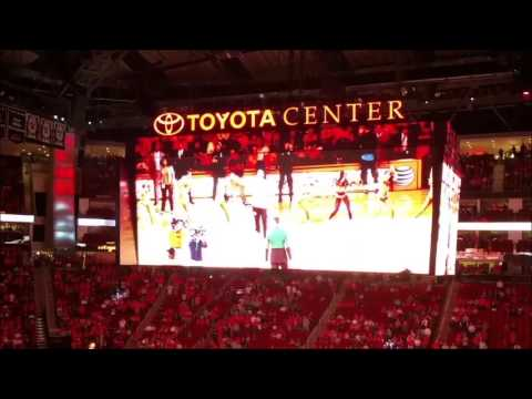 Houston Rockets 2015-16 Arena Intro (with player intros)