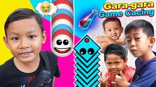 Praya Bermain Bersama Teman-teman | Drama Parodi Praya Brother Gara Gara Game Cacing