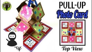 Pull-Up Photo Accordion Card for Scrap Book - DIY Tutorial by Paper Folds - 733 HD