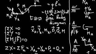 Теоретическая механика. Задание С1 (часть 4) из сборника Яблонского