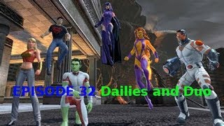 DC Universe Online My First Look At Teen Titans Episode 32 Daily Missions and Duo on Test