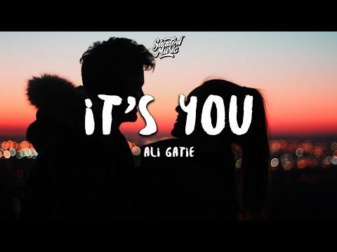 Ali Gatie - It's You (Lyrics) 💔