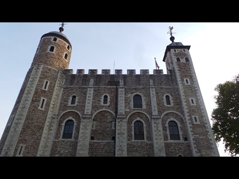 FULL WALK OF THE WHITE TOWER + ARMOURIES RESTAURANT @ TOWER OF LONDON